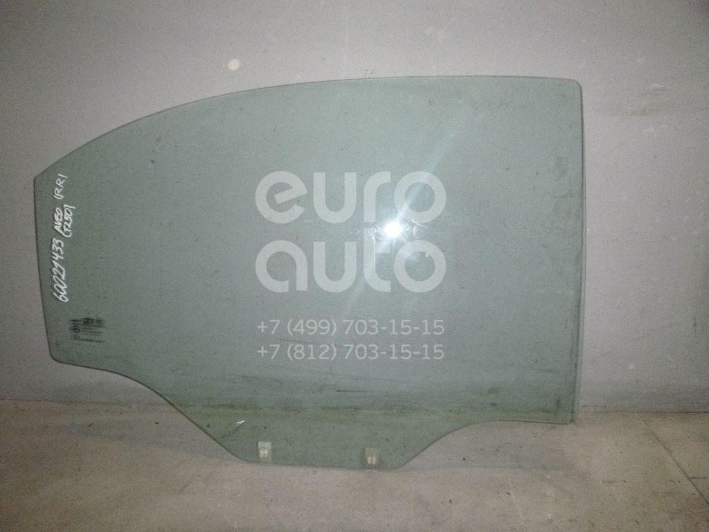 Стекло двери задней правой для Chevrolet Aveo (T250) 2005-2011 - Фото №1