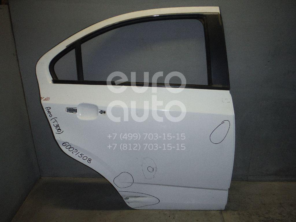 Дверь задняя правая для Chevrolet Aveo (T300) 2011> - Фото №1