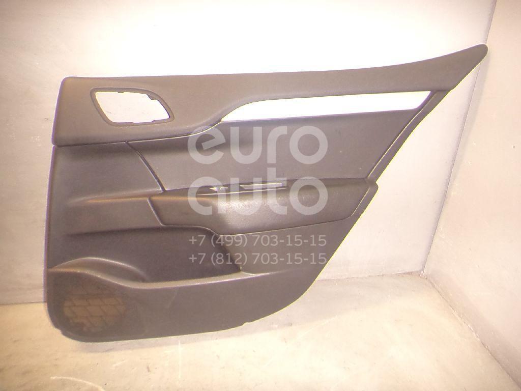 Обшивка двери задней правой для Citroen C4 II 2011> - Фото №1