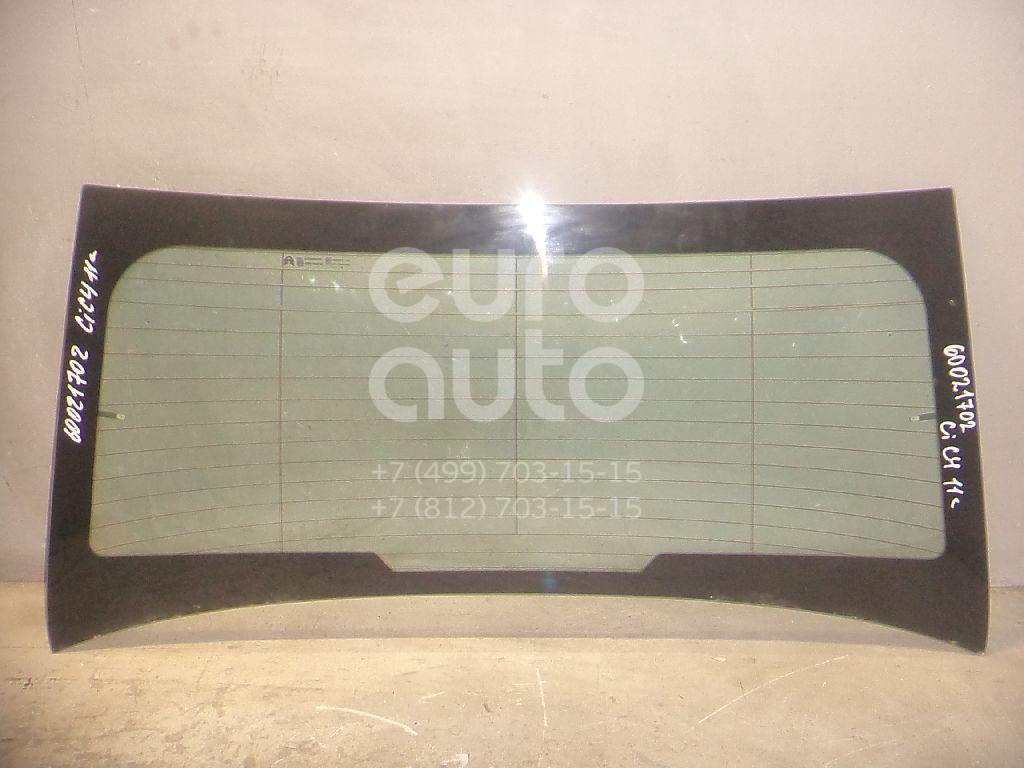 Стекло заднее для Citroen C4 II 2011> - Фото №1