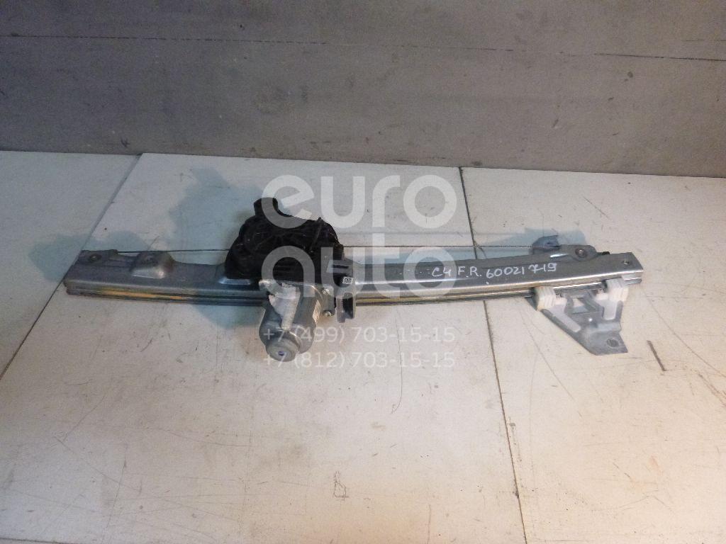 Стеклоподъемник электр. передний правый для Citroen C4 II 2011> - Фото №1