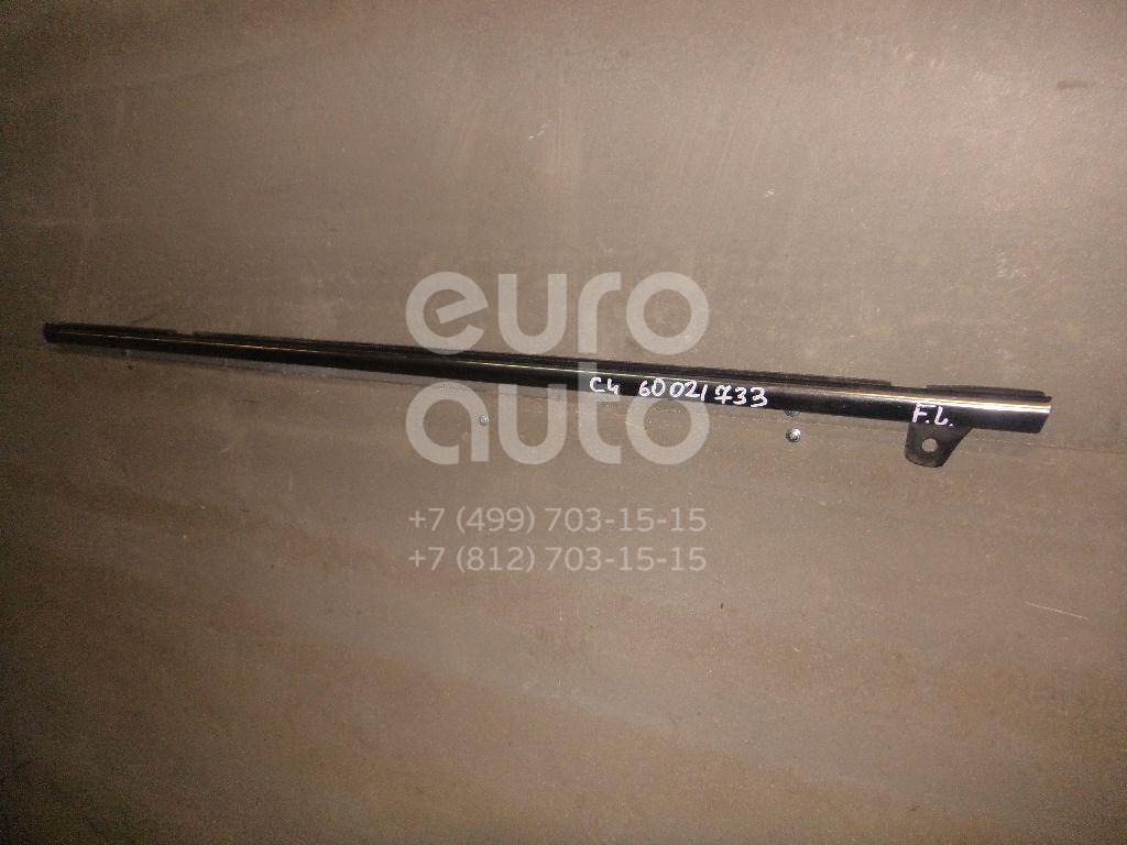 Накладка стекла переднего левого для Citroen C4 II 2011> - Фото №1