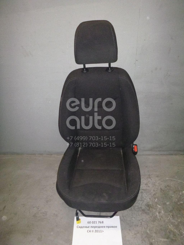 Сиденье переднее правое для Citroen C4 II 2011> - Фото №1
