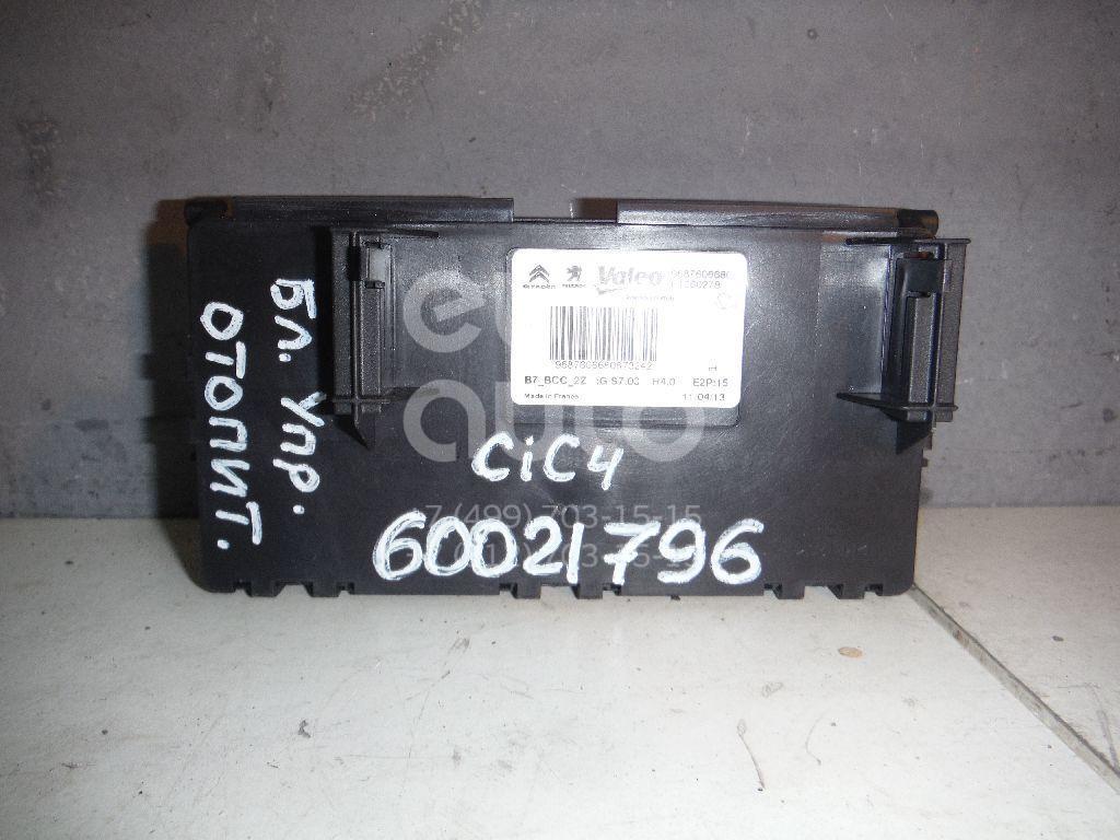 Блок управления отопителем для Citroen C4 II 2011>;DS4 2011-2015 - Фото №1