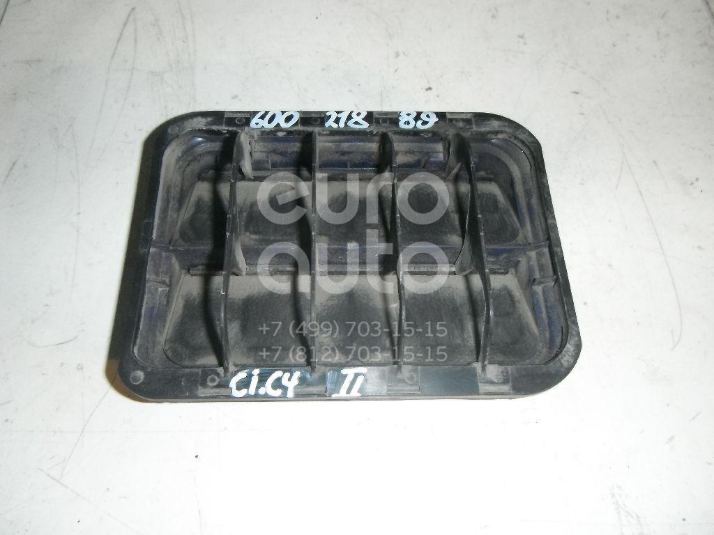 Решетка вентиляционная для Citroen,Peugeot C4 II 2011>;407 2004-2010;C6 2006-2012;C5 2008>;3008 2010>;DS3 2009-2015;508 2010>;208 2012>;301 2013>;C-Elysee 2012> - Фото №1