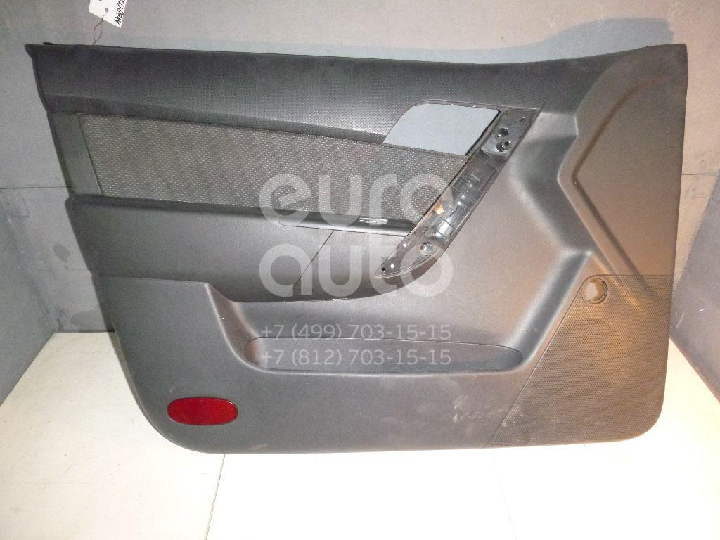Обшивка двери передней левой для Chevrolet Aveo (T250) 2005-2011 - Фото №1