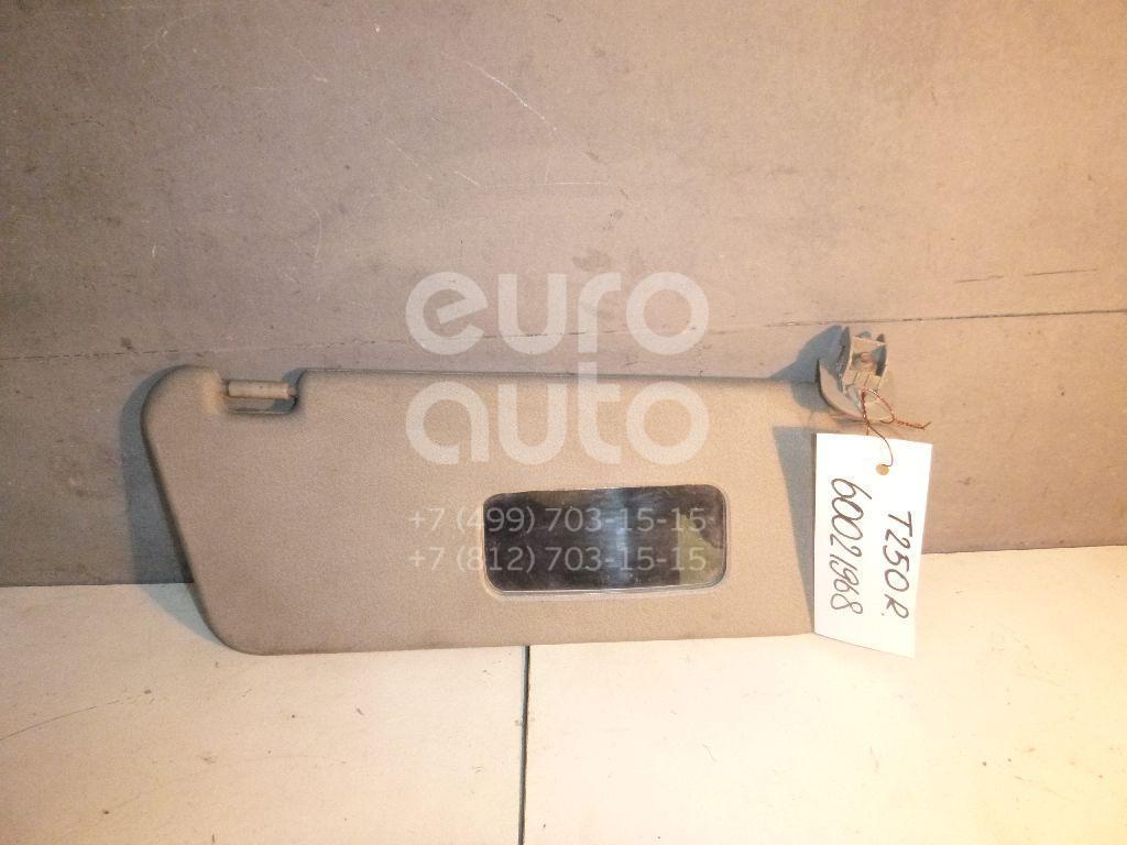 Козырек солнцезащитный (внутри) для Chevrolet Aveo (T250) 2005-2011 - Фото №1