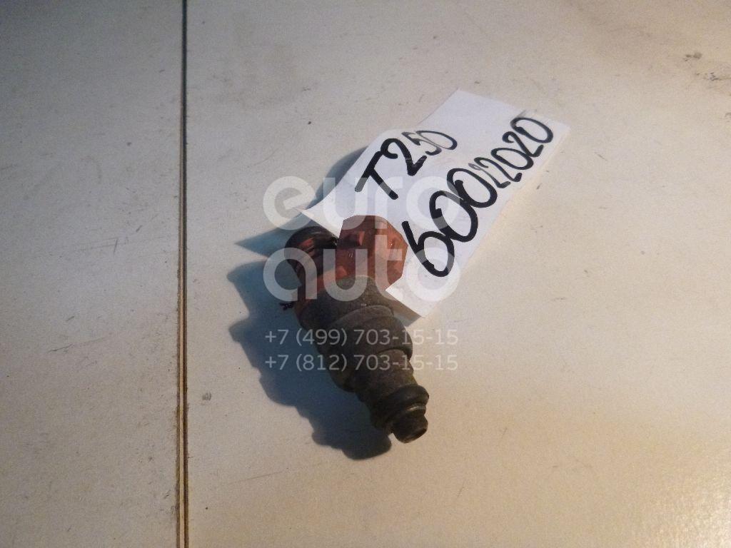 Форсунка инжекторная электрическая для Chevrolet Aveo (T250) 2005-2011;Matiz (KLYA) 1998>;Matiz 2001>;Aveo (T200) 2003-2008;Spark 2005-2011 - Фото №1