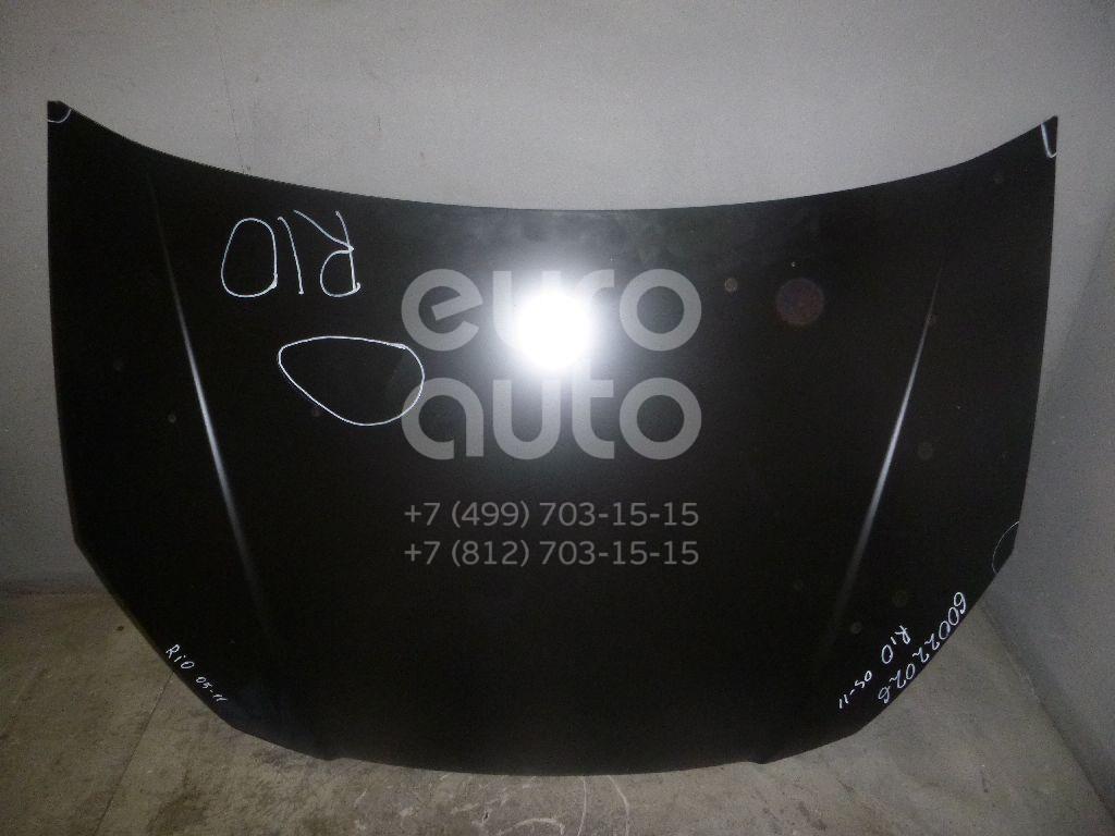 Капот для Kia RIO 2005-2011 - Фото №1