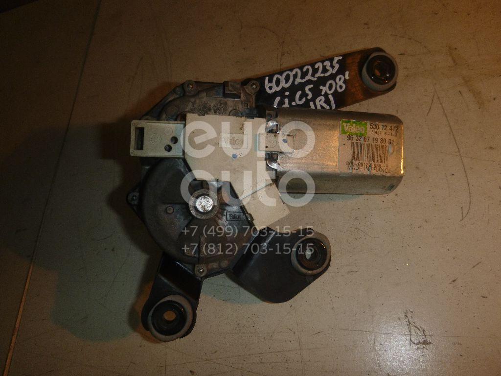 Моторчик стеклоочистителя задний для Citroen C5 2005-2008;C5 2001-2005 - Фото №1