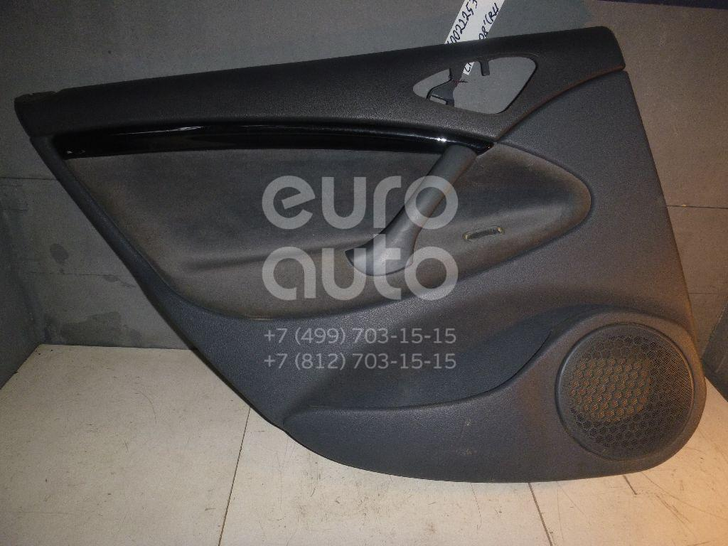 Обшивка двери задней левой для Citroen C5 2005-2008 - Фото №1