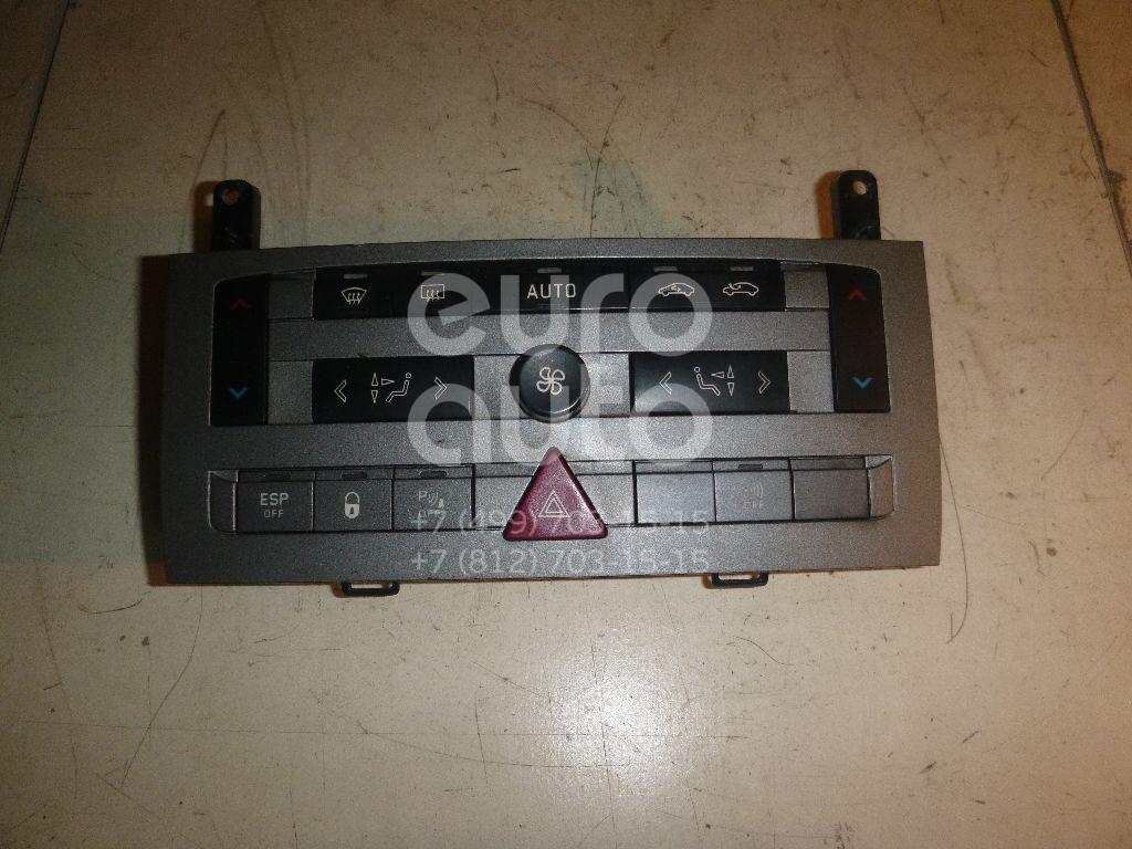 Блок управления климатической установкой для Citroen C5 2005-2008 - Фото №1