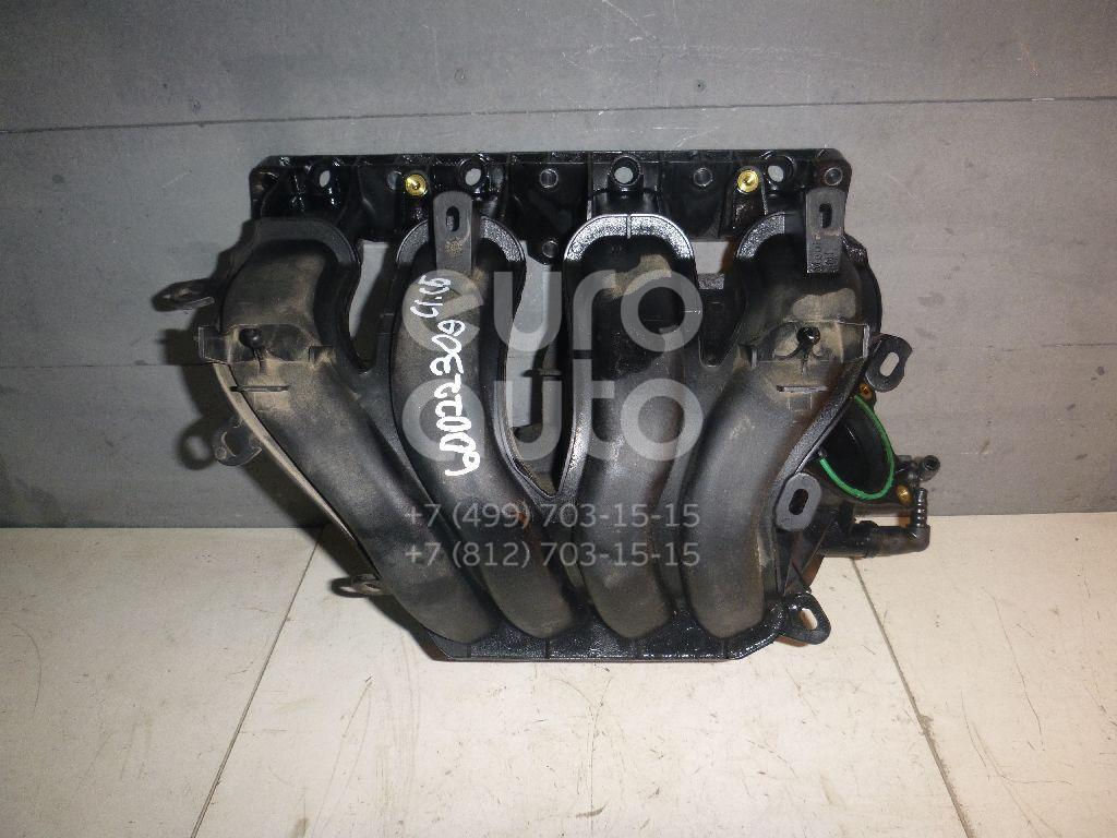 Коллектор впускной для Citroen,Peugeot C5 2005-2008;307 2001-2007;308 I 2007-2015;C4 Picasso 2006-2014;Expert 1995-2007 - Фото №1