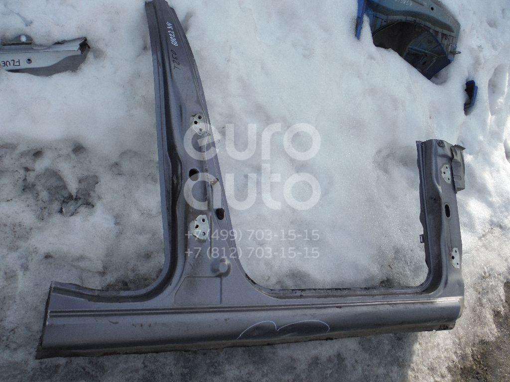 Порог со стойкой правый для Chevrolet Aveo (T250) 2005-2011 - Фото №1