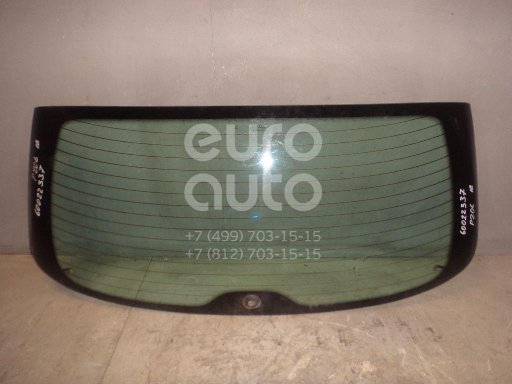 Стекло заднее для Peugeot 206 1998-2012 - Фото №1