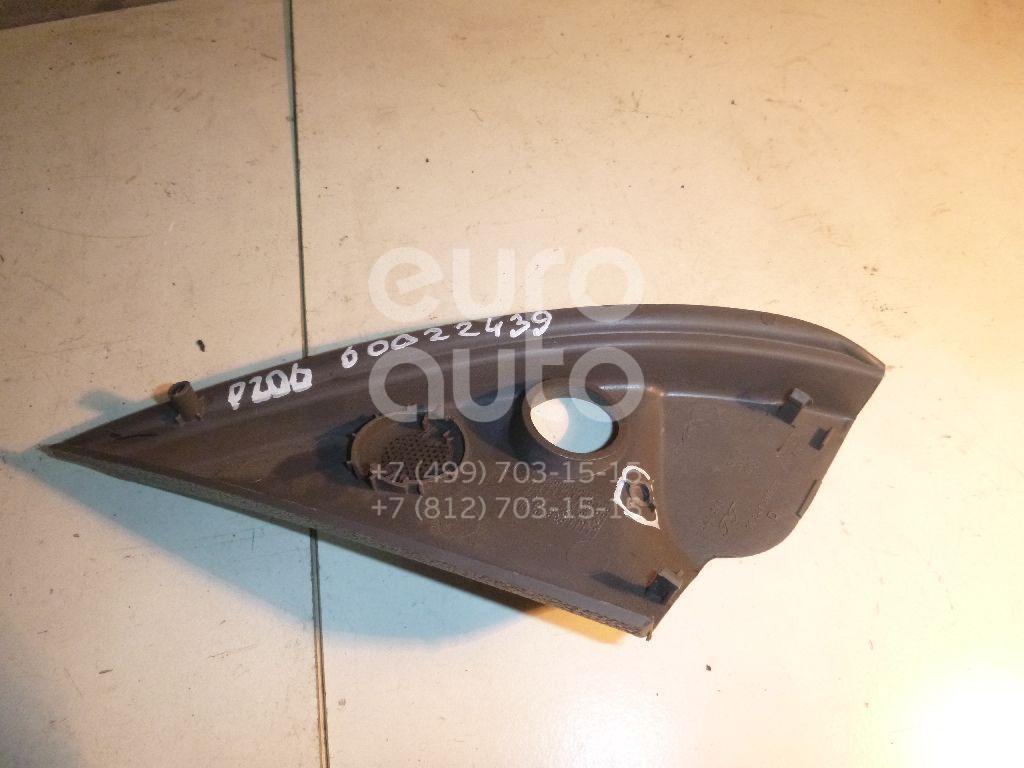Крышка зеркала внутренняя правая для Peugeot 206 1998-2012 - Фото №1