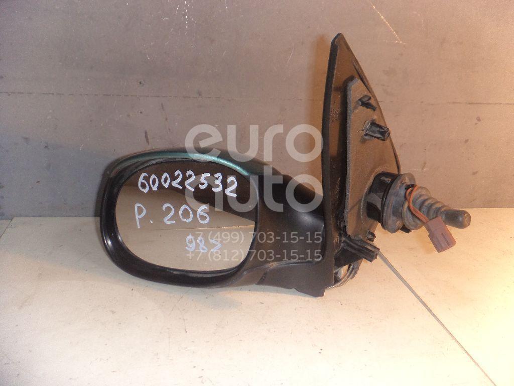 Зеркало левое механическое для Peugeot 206 1998> - Фото №1