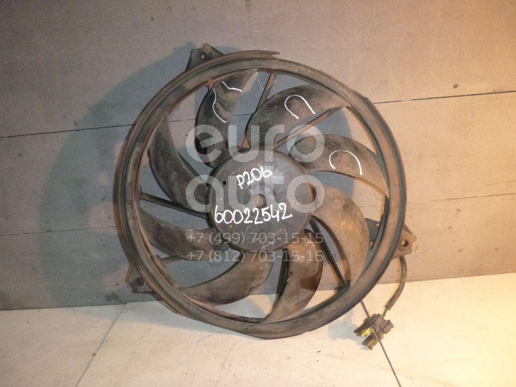 Вентилятор радиатора для Peugeot,Citroen 206 1998-2012;C2 2003-2008 - Фото №1