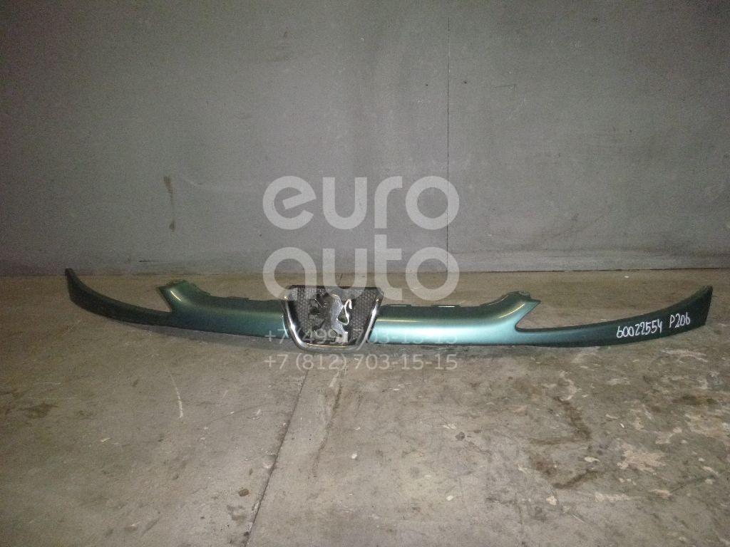 Планка под фары для Peugeot 206 1998> - Фото №1