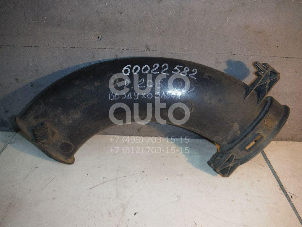 Воздухозаборник (наружный) для Peugeot 206 1998-2012 - Фото №1