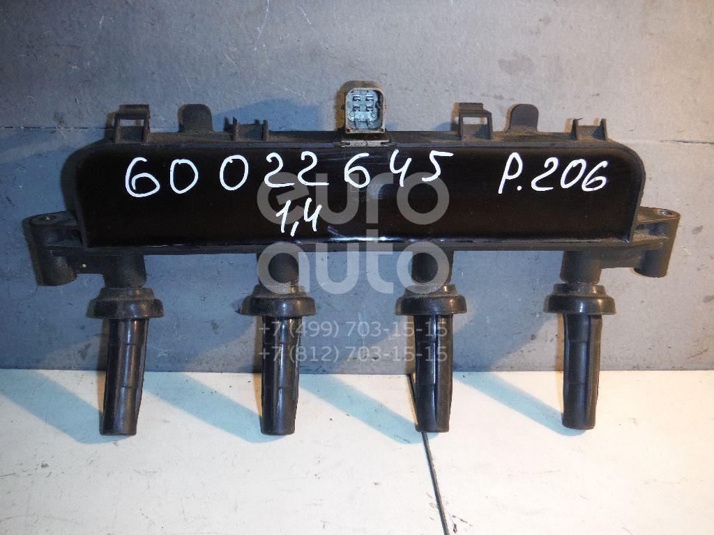 Рампа (кассета) катушек зажигания для Peugeot,Citroen 206 1998-2012;C2 2003-2008;C3 2002-2009 - Фото №1