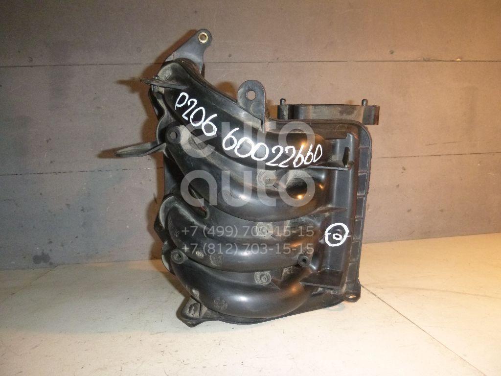 Коллектор впускной для Peugeot,Citroen 206 1998-2012;C3 2002-2009;Partner (M59) 2002-2010 - Фото №1