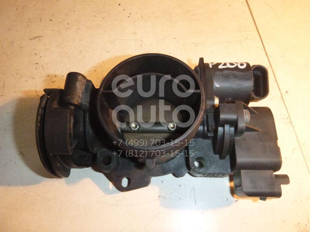 Заслонка дроссельная механическая для Peugeot 206 1998-2012 - Фото №1