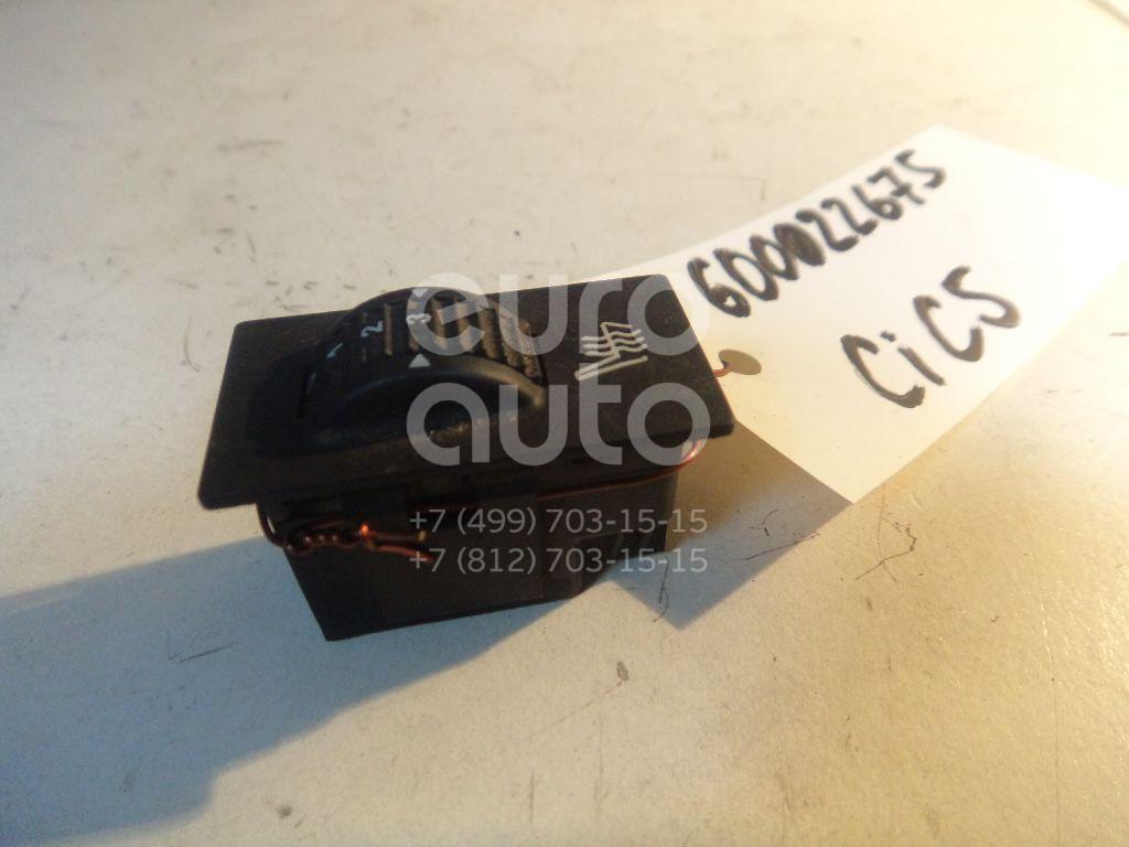 Кнопка обогрева сидений для Citroen,Peugeot C5 2004-2008;C4 2005-2011;307 2001-2008;607 2000-2010;4007 2008-2013 - Фото №1