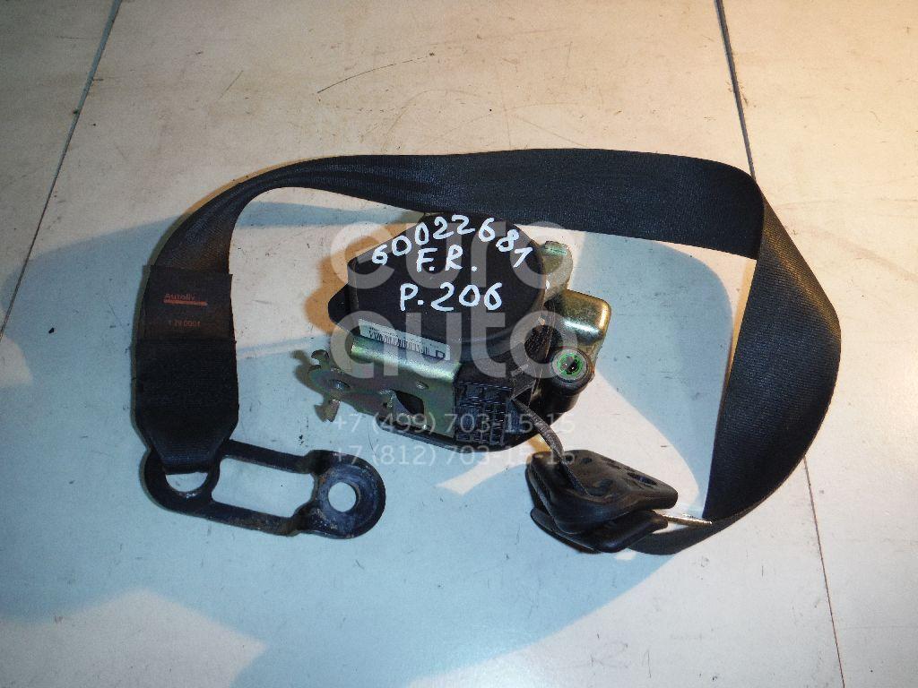 Ремень безопасности с пиропатроном для Peugeot 206 1998-2012;207 2006-2013 - Фото №1