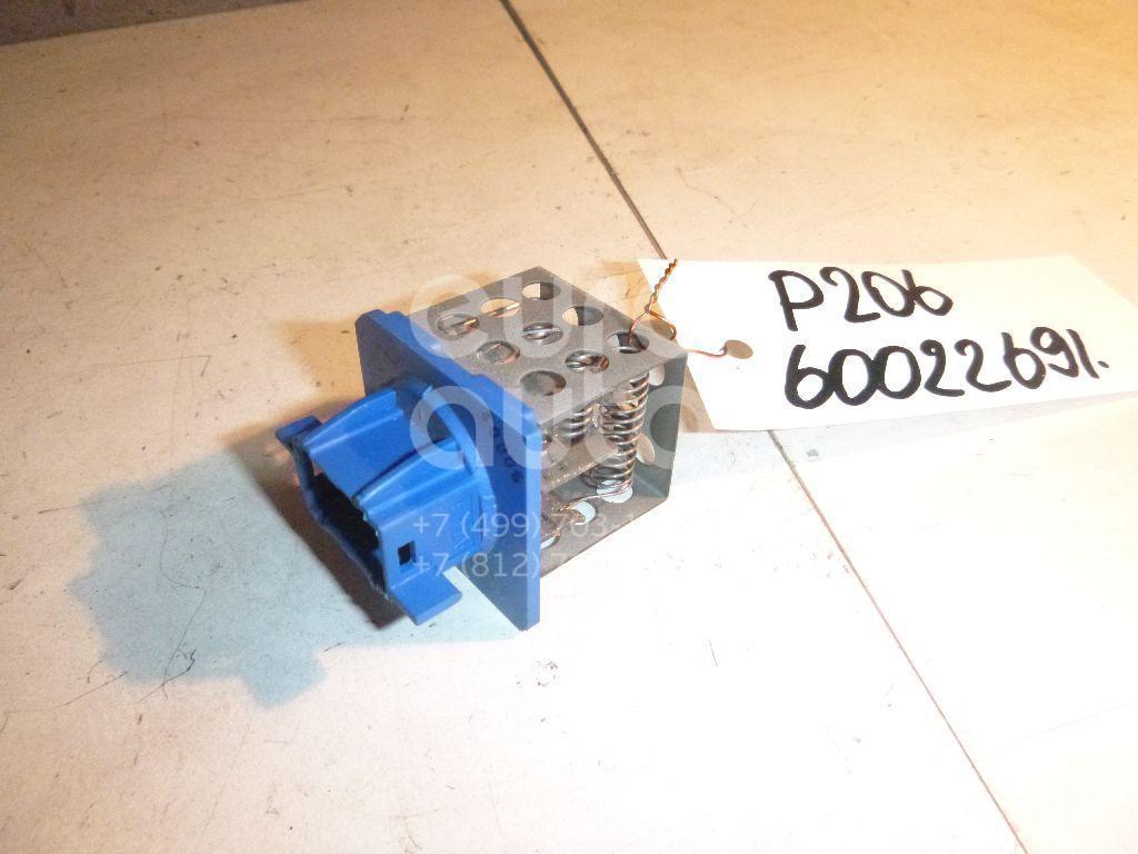Резистор отопителя для Citroen 206 1998>;Xsara Picasso 1999> - Фото №1