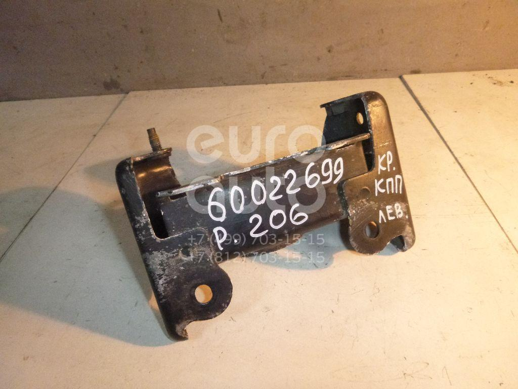 Кронштейн КПП левый для Peugeot 206 1998> - Фото №1