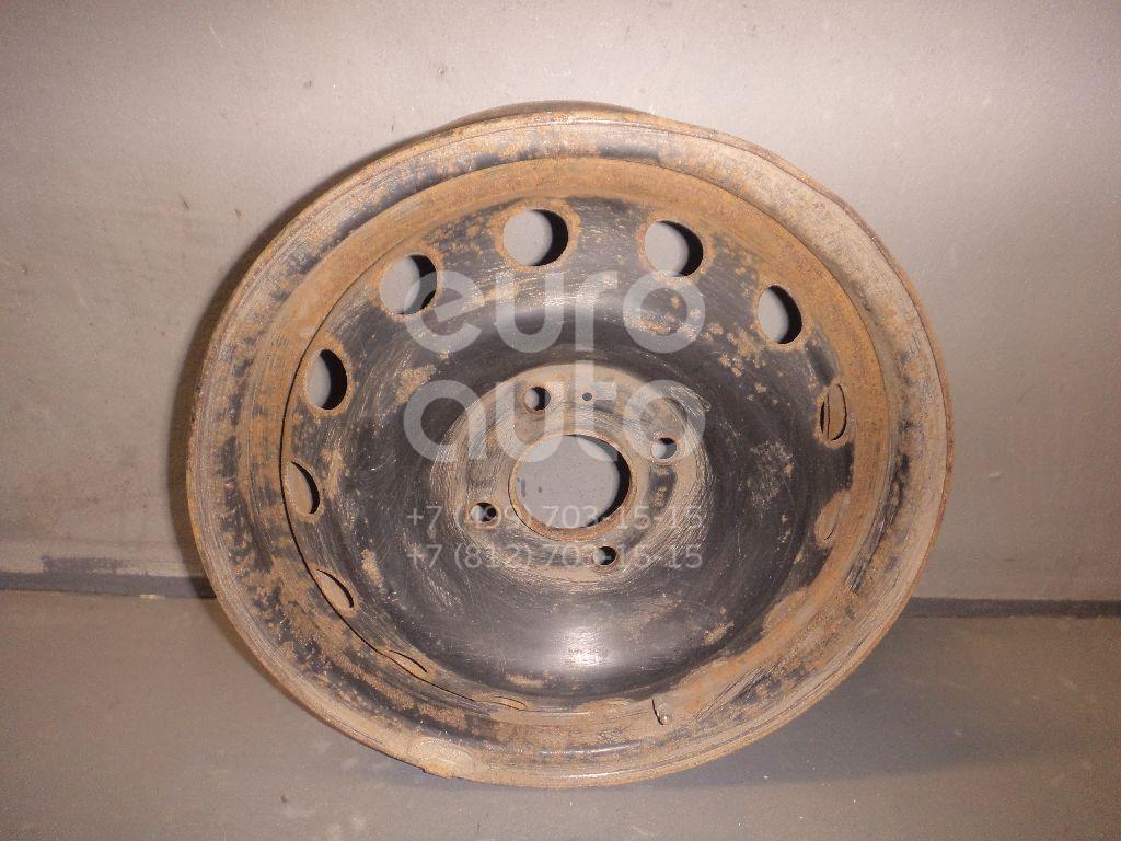 Диск колесный железо для Peugeot 206 1998-2012 - Фото №1
