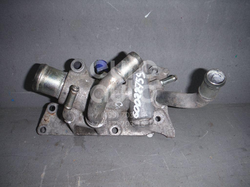 Фланец двигателя системы охлаждения для Nissan Note (E11) 2006-2013;Micra (K12E) 2002-2010;Qashqai (J10) 2006-2014;Tiida (C11) 2007-2014;Qashqai+2 (JJ10) 2008-2014;NV200 (M20) 2009> - Фото №1