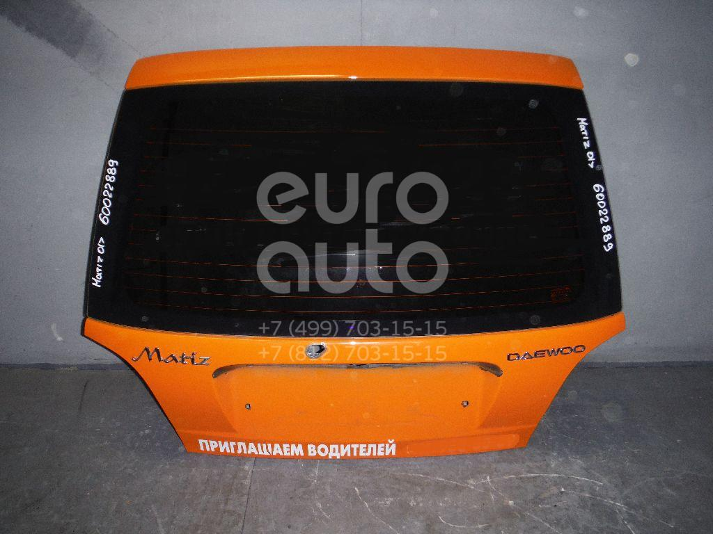 Дверь багажника со стеклом для Daewoo Matiz (M100/M150) 1998-2015 - Фото №1