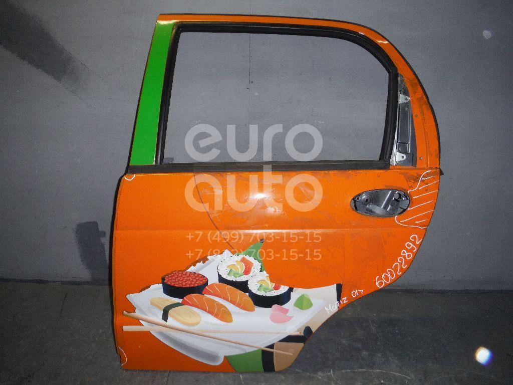 Дверь задняя левая для Daewoo Matiz 2001>;Matiz (KLYA) 1998> - Фото №1