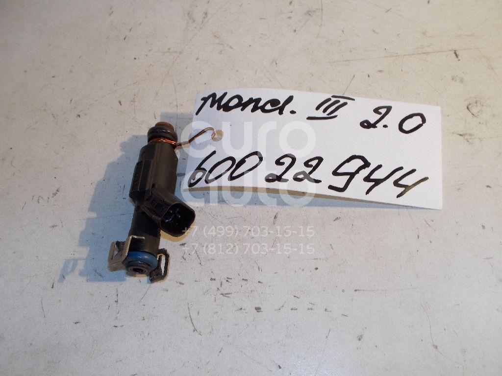 Форсунка инжекторная электрическая для Volvo Mondeo III 2000-2007;Focus II 2005-2008;Fusion 2002>;C-MAX 2003-2011;Mazda 5 (CR) 2005-2010;MPV II (LW) 1999-2006;323 (BJ) 1998-2002;Mazda 6 (GG) 2002-2007;Mazda 3 (BK) 2002-2009;Fiesta 2001-2007 - Фото №1