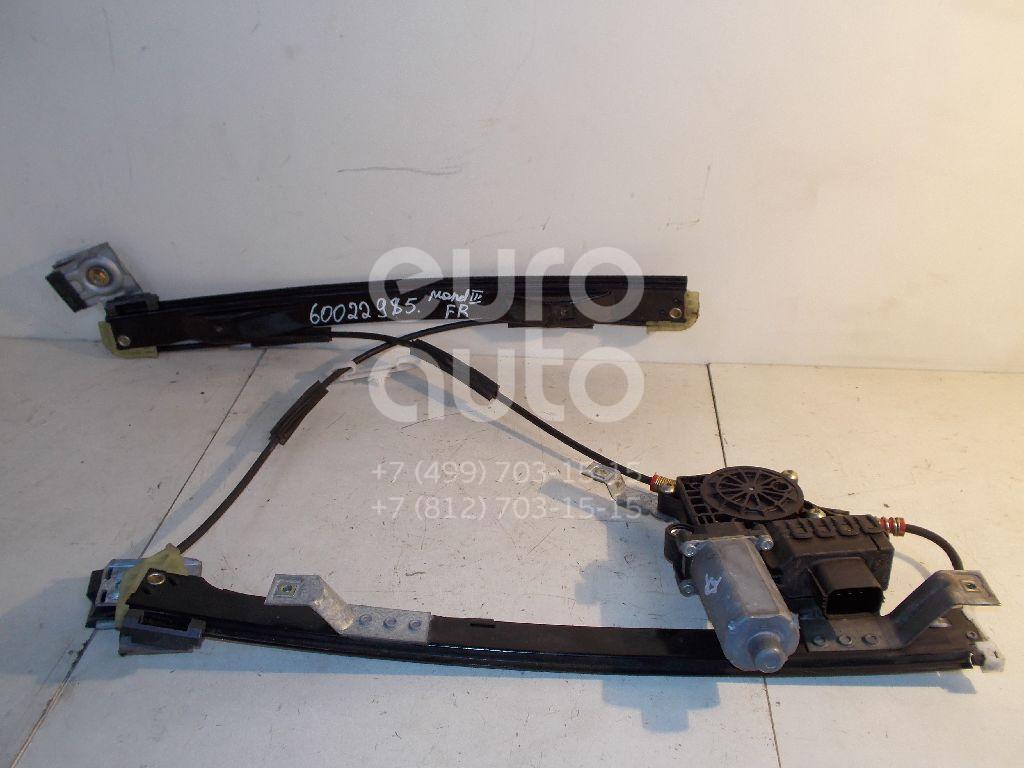 Стеклоподъемник электр. передний правый для Ford Mondeo III 2000-2007 - Фото №1
