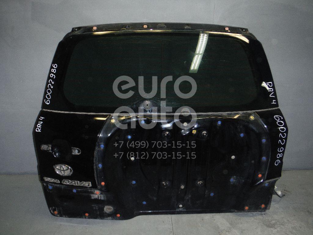 Дверь багажника со стеклом для Toyota RAV 4 2006-2013 - Фото №1