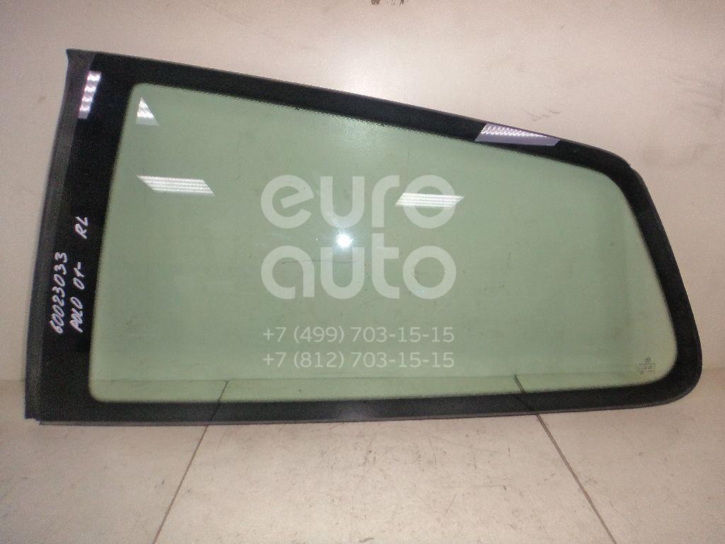 Стекло кузовное глухое левое для VW Polo 2001-2009 - Фото №1
