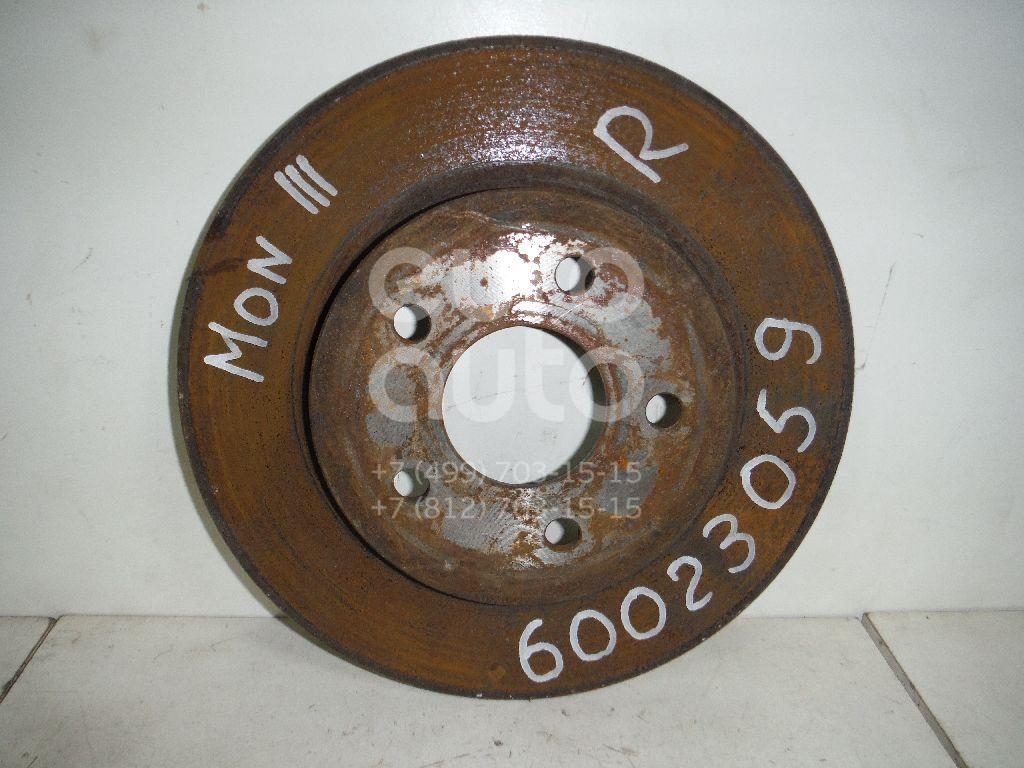 Диск тормозной задний для Ford Mondeo III 2000-2007 - Фото №1