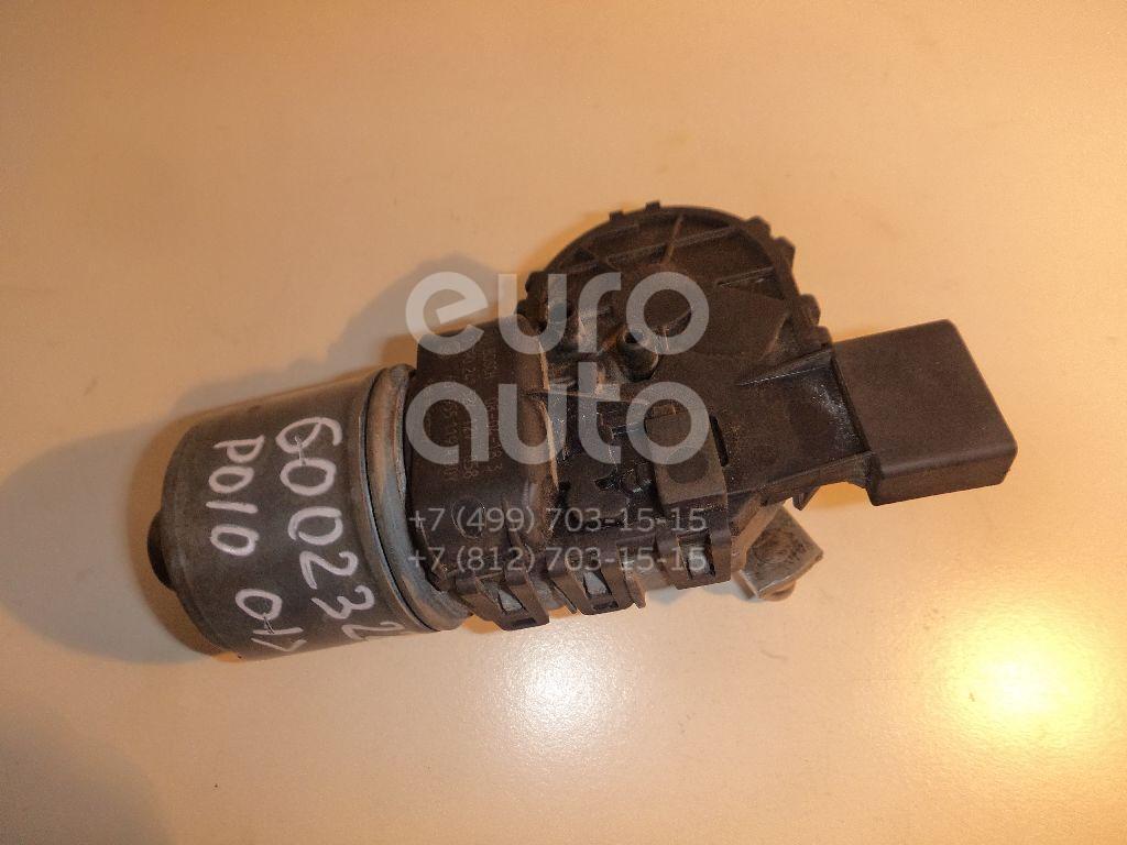 Моторчик стеклоочистителя передний для VW Polo 2001-2009;Fabia 1999-2006 - Фото №1