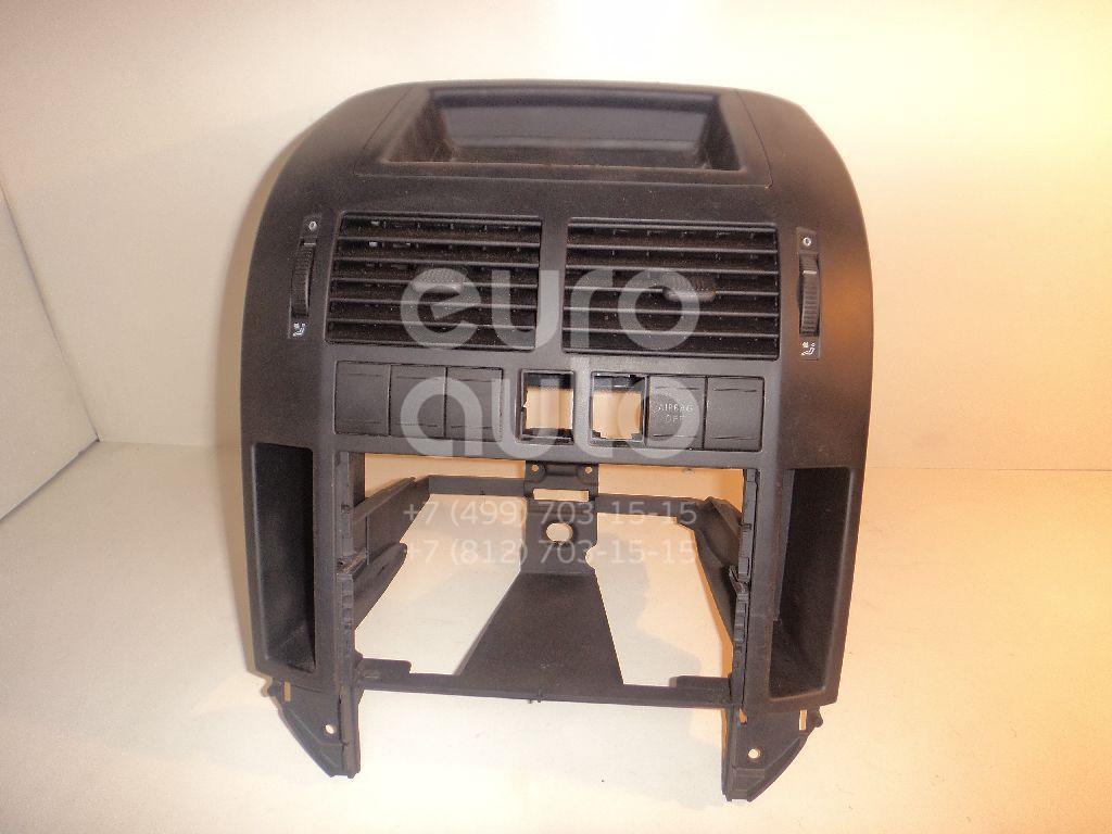 Рамка магнитолы для VW Polo 2001-2009 - Фото №1
