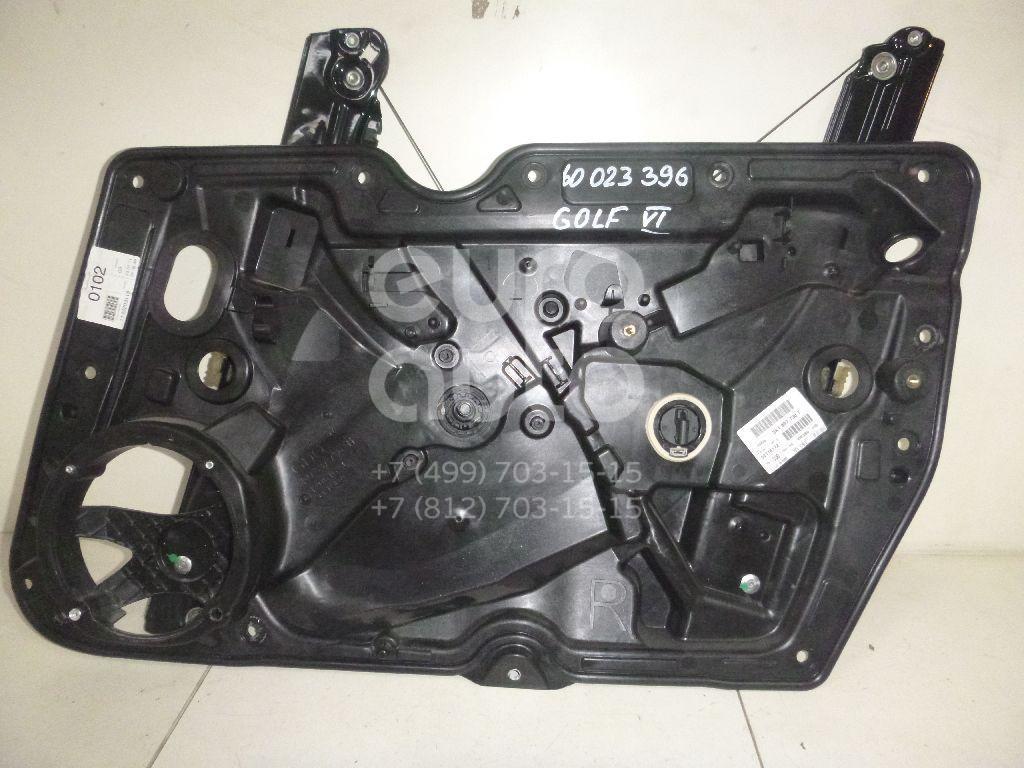 Стеклоподъемник электр. передний правый для VW Golf VI 2009-2012 - Фото №1