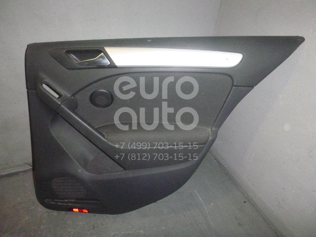 Обшивка двери задней правой для VW Golf VI 2009-2012;Golf VII 2012> - Фото №1