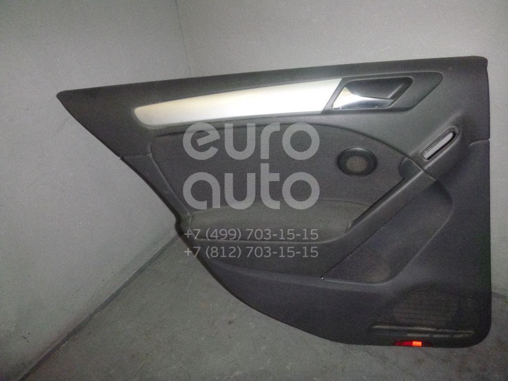 Обшивка двери задней левой для VW Golf VI 2009-2012;Golf VII 2012> - Фото №1