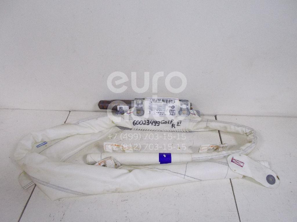 Подушка безопасности боковая (шторка) для VW Golf VI 2009-2012 - Фото №1