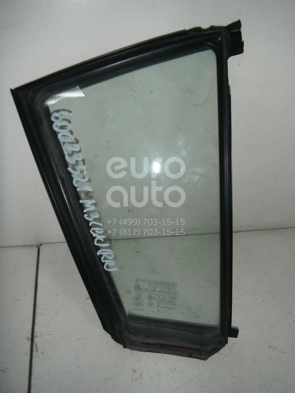 Стекло двери задней правой (форточка) для Mazda Mazda 3 (BK) 2002-2009 - Фото №1