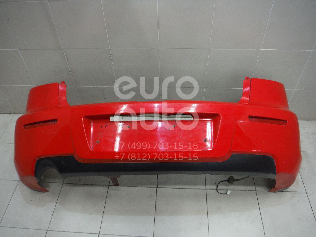 Бампер задний для Mazda Mazda 3 (BK) 2002-2009 - Фото №1