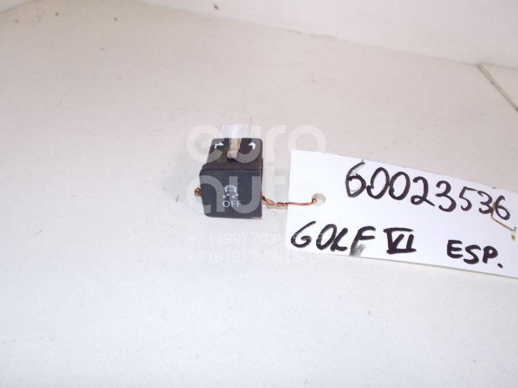 Кнопка антипробуксовочной системы для VW Golf VI 2009-2012;Caddy III 2004-2016;Golf V 2003-2009;Jetta 2006-2011;EOS 2006-2015;Scirocco 2008> - Фото №1