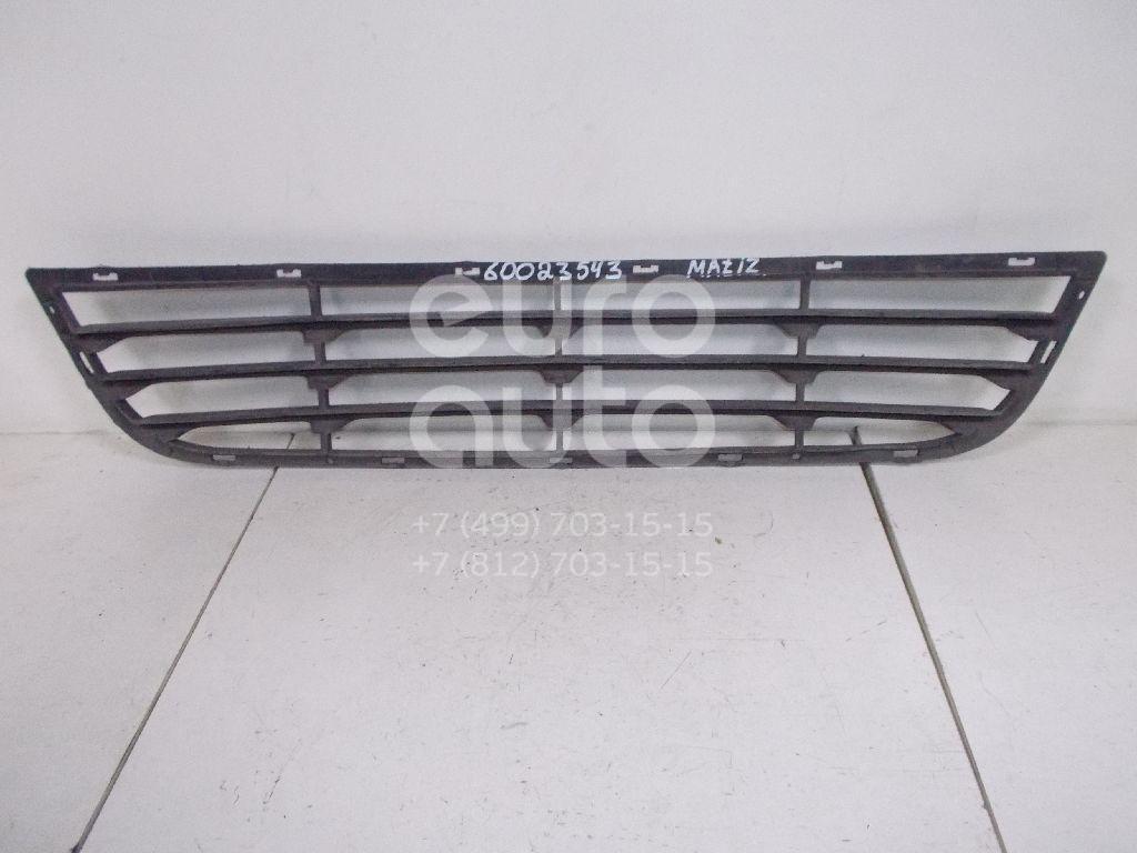 Решетка в бампер центральная для Daewoo Matiz 1998-2015 - Фото №1